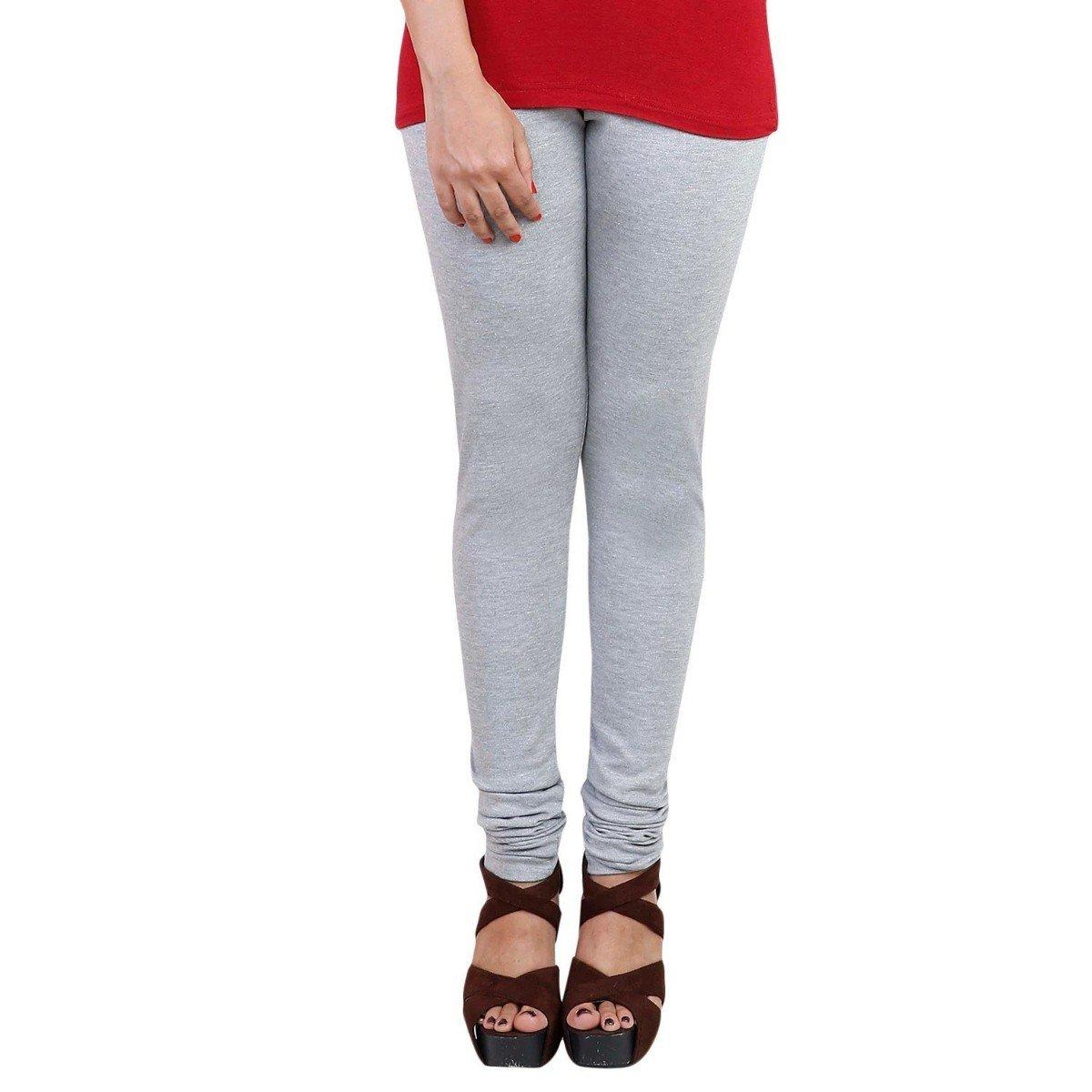 c22d09040191b Vaishno Garments Miyani Women's Leggings (Free Size, Light Grey):  Amazon.in: Clothing & Accessories