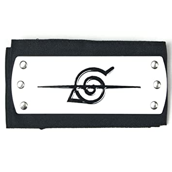 NARUTO Cosplay Accesorio Leaf Village Rebel Ninja Black Leaf Village Rebel Ninja Headband