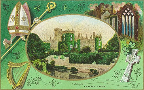 Kilkenny, Ireland - View of Kilkenny Castle, St. Patrick's Day