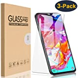 HEYUS [3 Pack] for Samsung Galaxy A70 Screen Protector, 9H Hardness Premium Tempered Shatterproof Glass Screen Protector Case Friendly Film for Samsung Galaxy A70