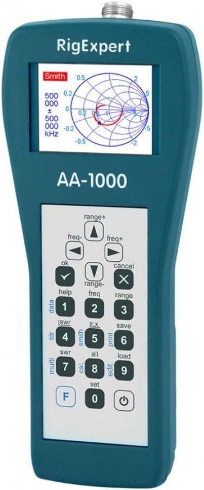 RigExpert AA-1000 - Analizador de Antena (0,1-1000 MHz)