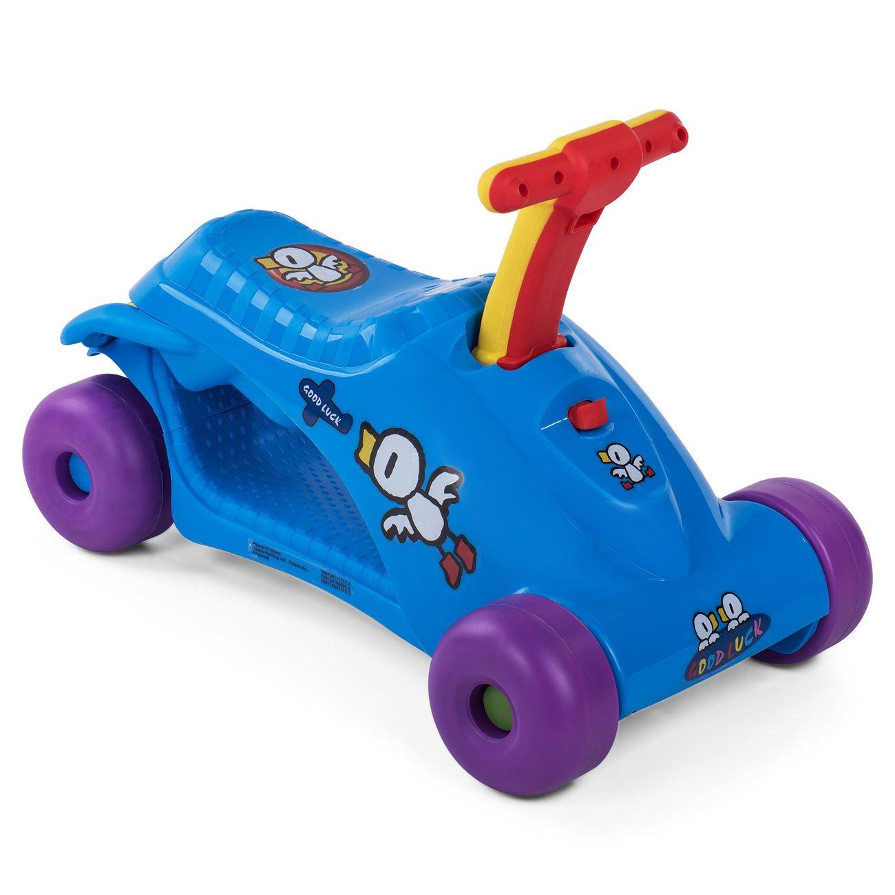 Baby Vivo Correpasillos Coche Scooter Para Bebés Niños 2en1 ...