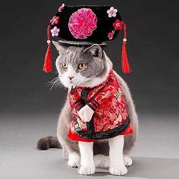 Amazon.com: Yu-Xiang Disfraz de Gege para mascotas, perros ...