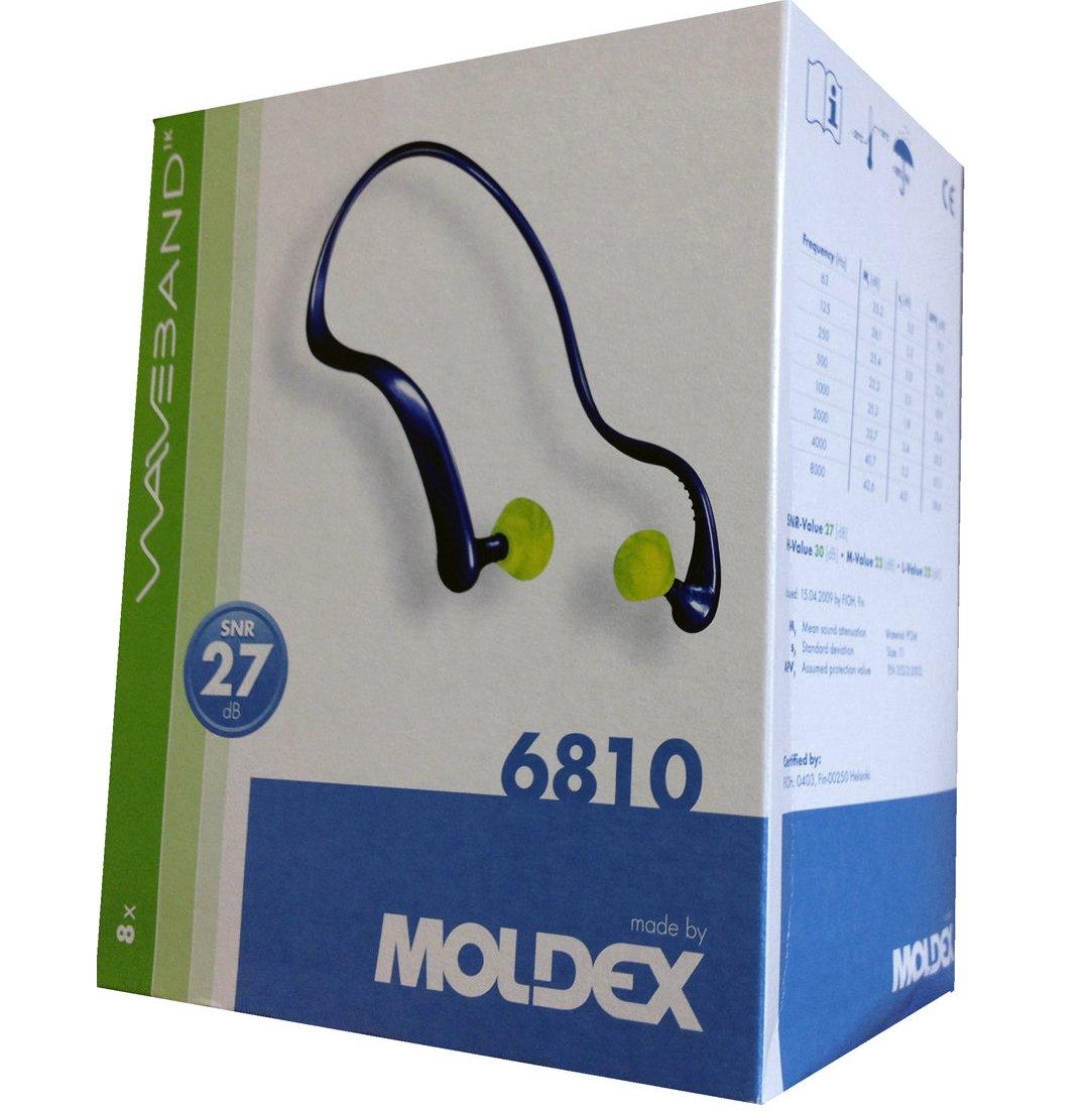 EAR DEFENDER MOLDEX 6810 WAVEBAND BANDED EAR PLUGS