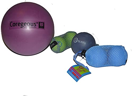 Yoga Tune Up Set of Various Ball Sizes and Colors – Original Tune up Balls, Plus Balls, Alpha Ball and Coregeous Ball in Black Bag with Coupon via email Any Simply Essential Solutions Item