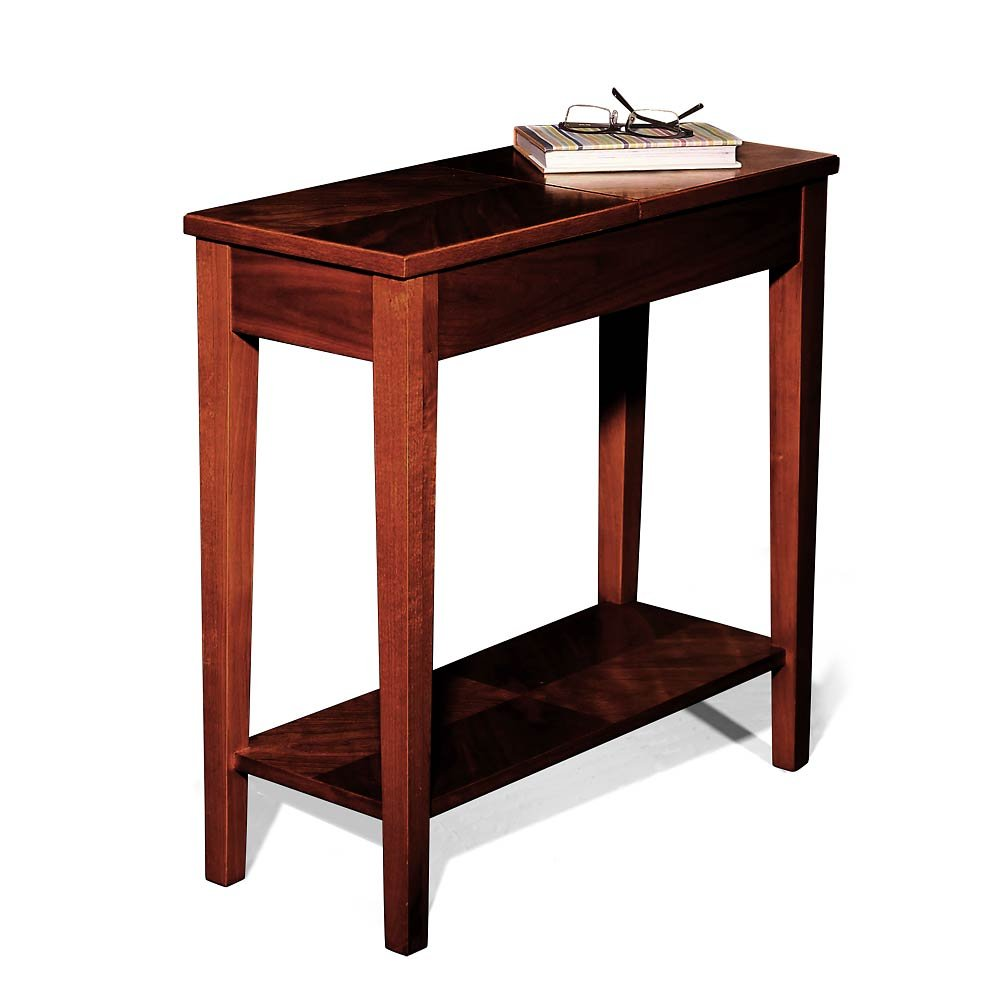 Amazon com levenger no room for a table table dark cherry fa4080 dc office products
