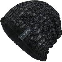 Legou Men's Warm Knit Thick Skull Cap