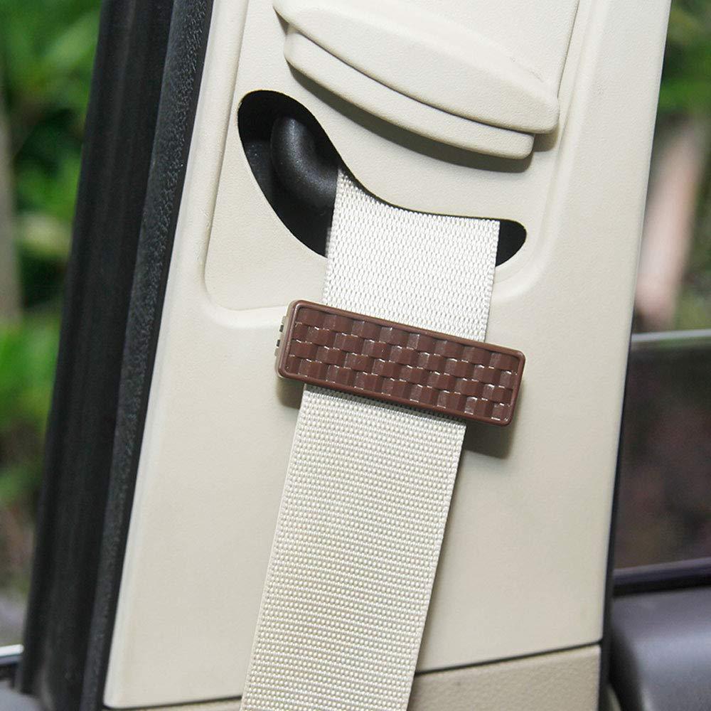 2PCS/set Protable universale seggiolino auto cintura di sicurezza antiscivolo veicolo supporto regolabile antiscivolo fibbia morsetto clip di fissaggio WEIWEICARE