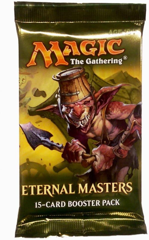 Magic The Gathering Eternal Masters Booster Pack English: Amazon.es: Juguetes y juegos