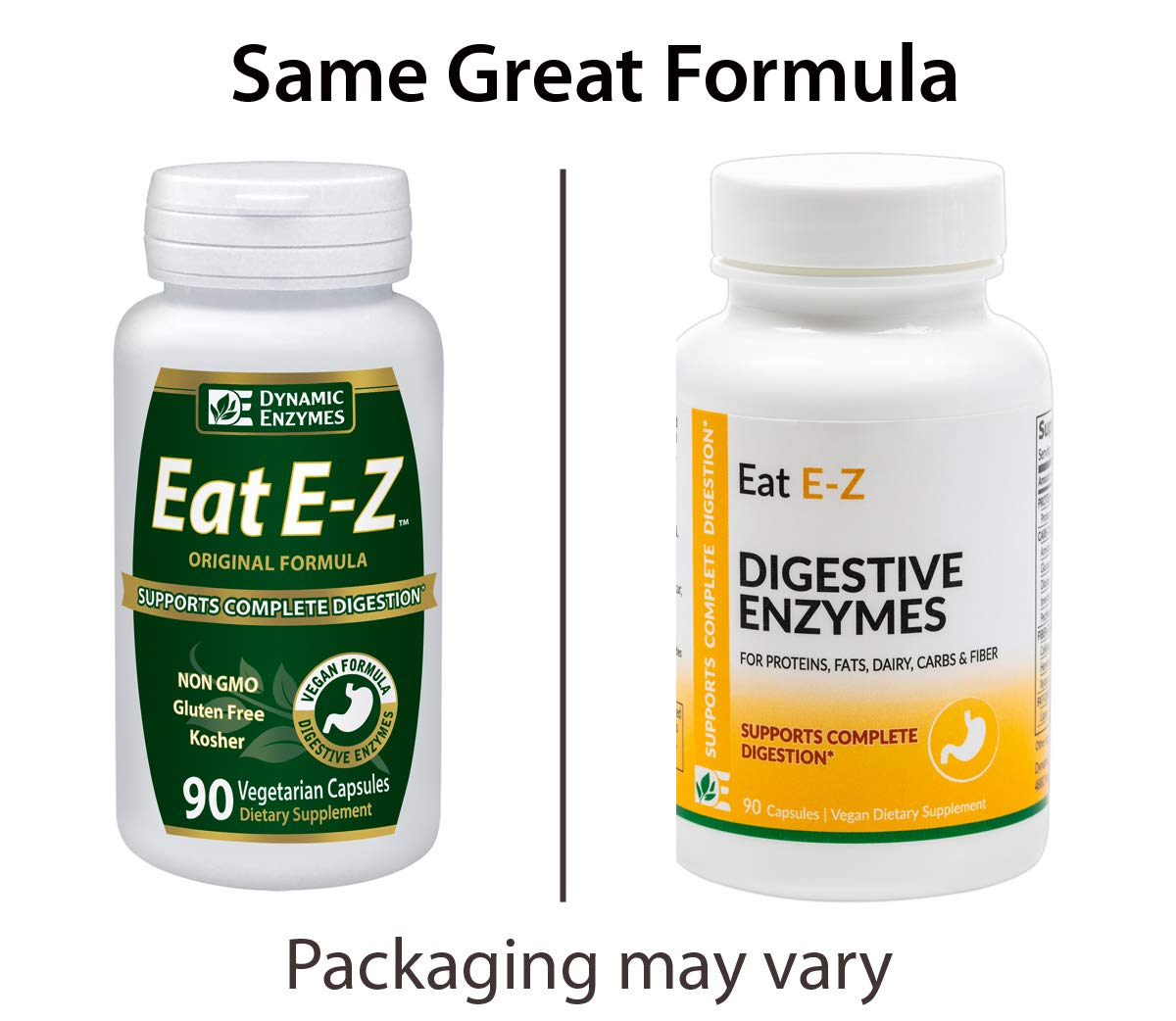 Amazon.com: Dynamic enzimas Eat E-Z – 90 Cápsulas – Complete ...