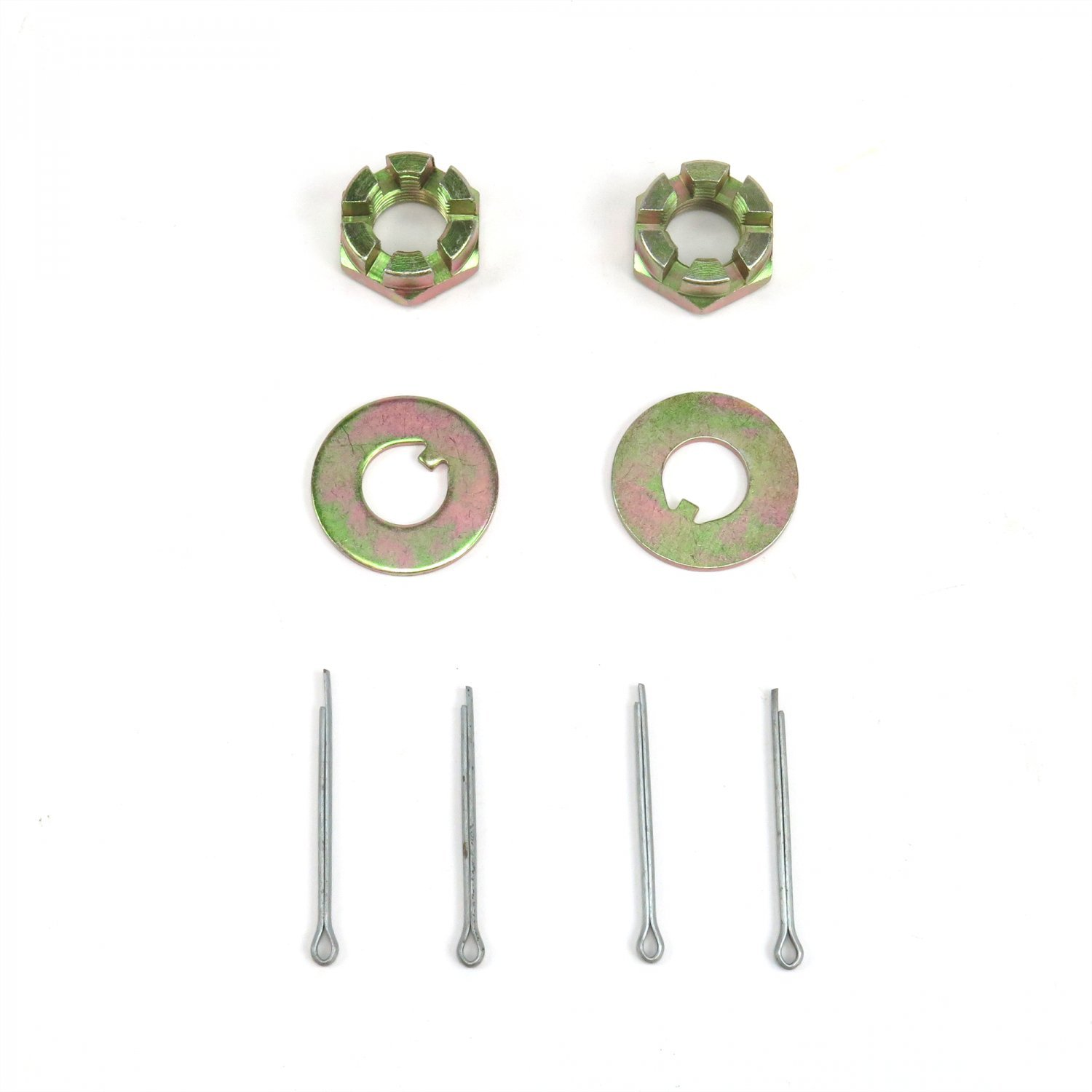 Vintage Parts 61645 Spindle Nut/Washer Kit, Pair