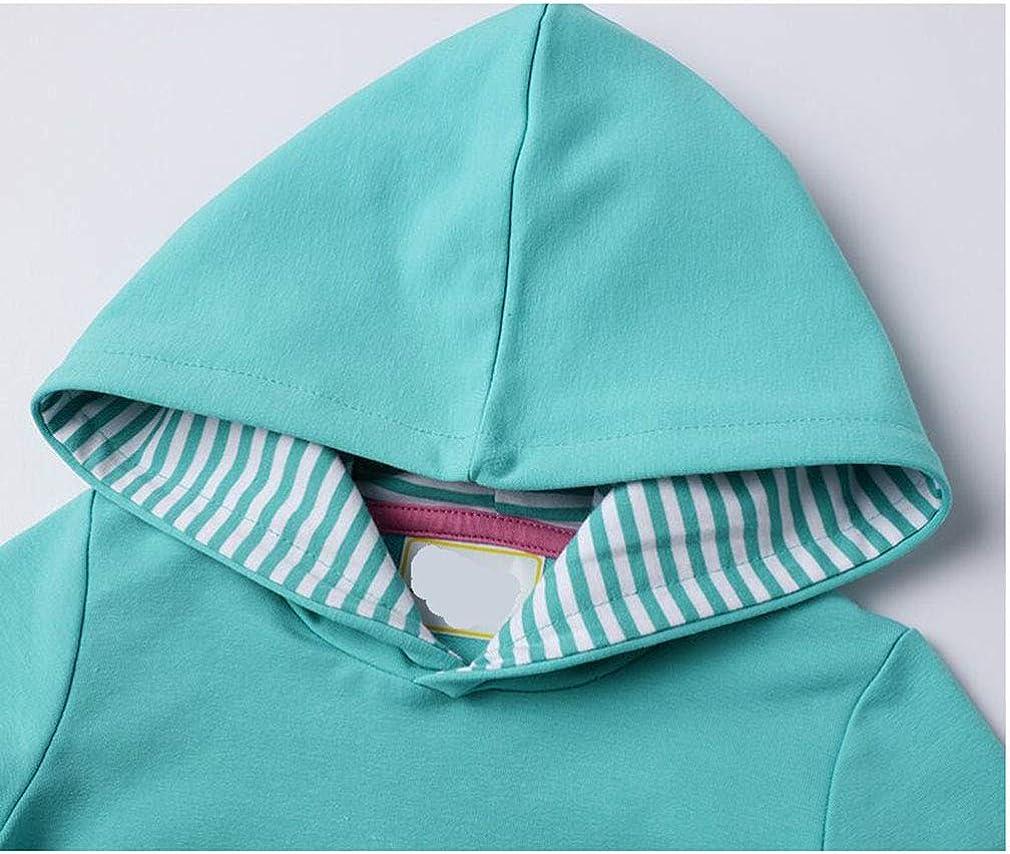Gaga city M/ädchen Langarmkleid Pullover Baby Cute Casual Baumwolle Streifen Kleid Herbst Winter Playwear Kleid 1-8 Jahre
