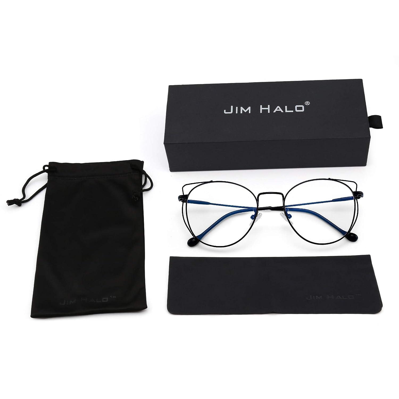 Jim Halo Lunettes de Soleil 9115 C17, Noir  Amazon.fr  Vêtements et  accessoires 3567d9a6dda4