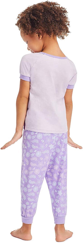 Soft /& Cozy Kids Lilac Pajama Set Disney Frozen 2 Girls 2-Piece Sleepwear