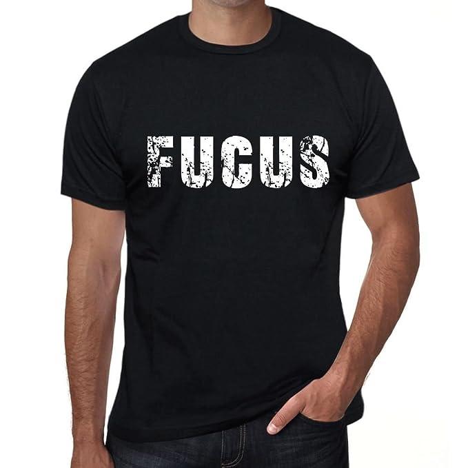 fucus Hombre Camiseta Negro Regalo de Cumpleaños 00553 ...