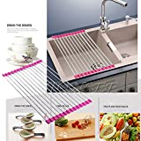 Slow Draining Toilet Sink Storage Dish Drying Rack Holder Fruit Vegetable Drainer Colanders Kitchen