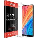 MASCHERI Pellicola Protettiva per Xiaomi Mi Mix 2s / Mi Mix 2 [3 Pezzi], [Garanzia a Vita] [Anti-graffio] Vetro Temperato per Xiaomi Mi Mix 2s / Mi Mix 2 - Trasparente