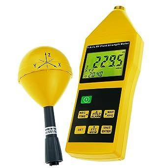 Triaxial Tri-Axis Medidor De Resistencia De Campo RF Detector De Prueba De Radiación 10MHz