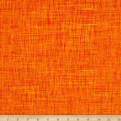 """P & B Textiles"""" Color Weave, Orange -  0564617"""
