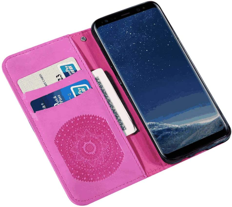 Leather Cover Business Gifts Wallet with Extra Waterproof Underwater Case Dream2Fancy Flip Case for Huawei Mate 20 PRO