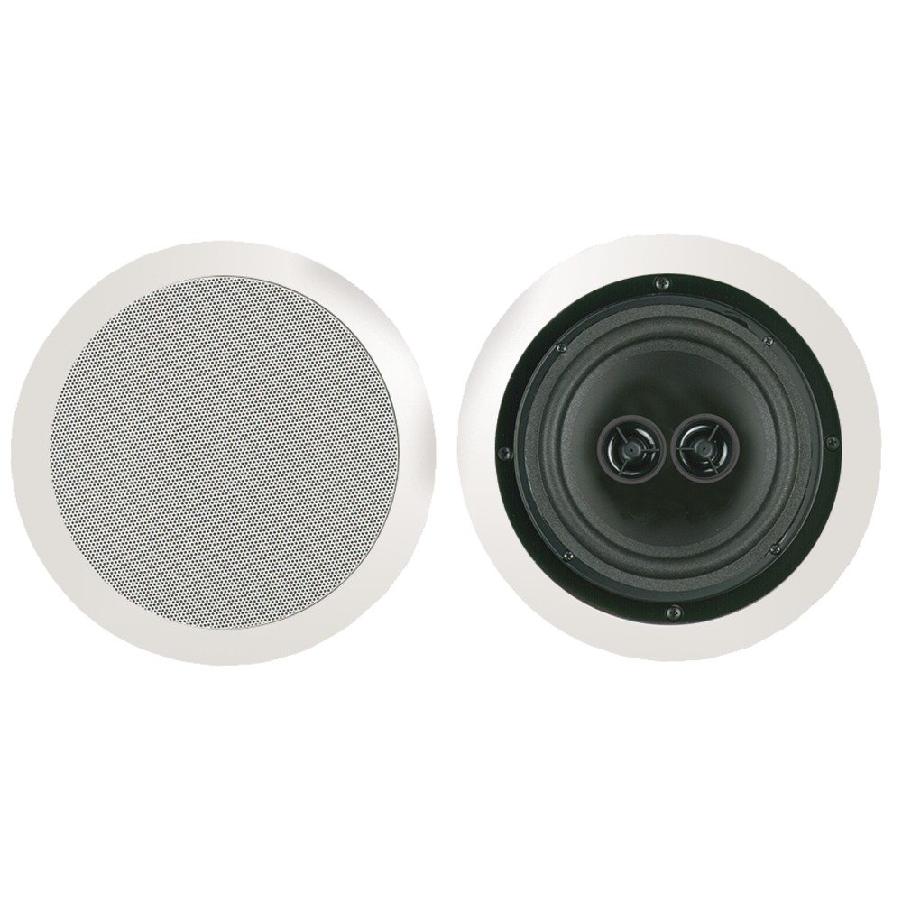 1 - 8 Dual Voice Coil Stereo Ceiling Speaker, 10W - 200W, 100W recommended amp power , MSR8D by BIC America B00MU2IWXS