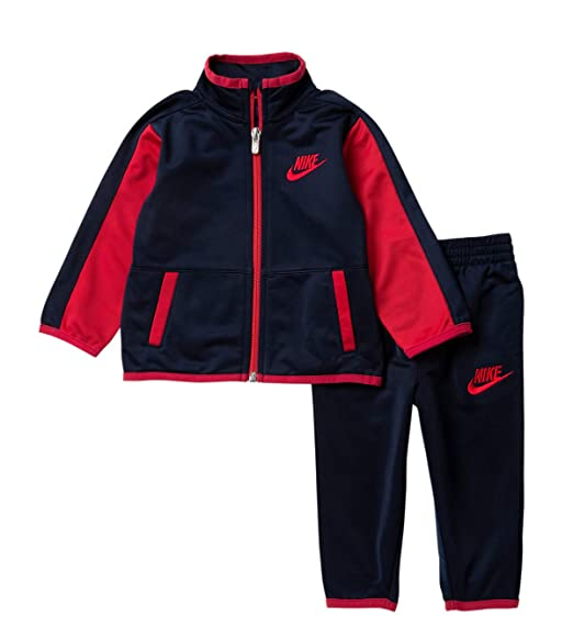 234f5936cbe Nike Boy s Futura Tricot Jacket and Pants Set (Obsidian(76C625-695)