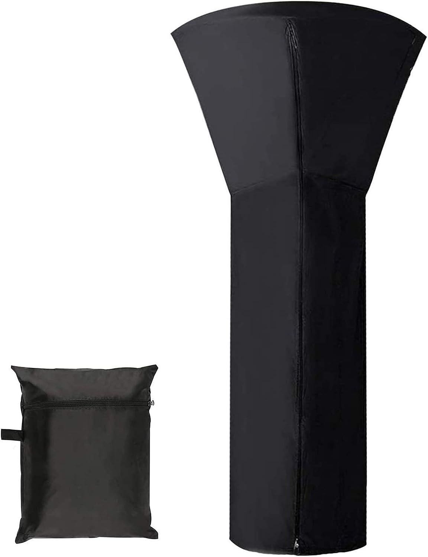 파티오 히터 커버 안뜰 히터용 방수 중부하 야외 정원 라운드 가구 보호기 (CH : 88X33X19)
