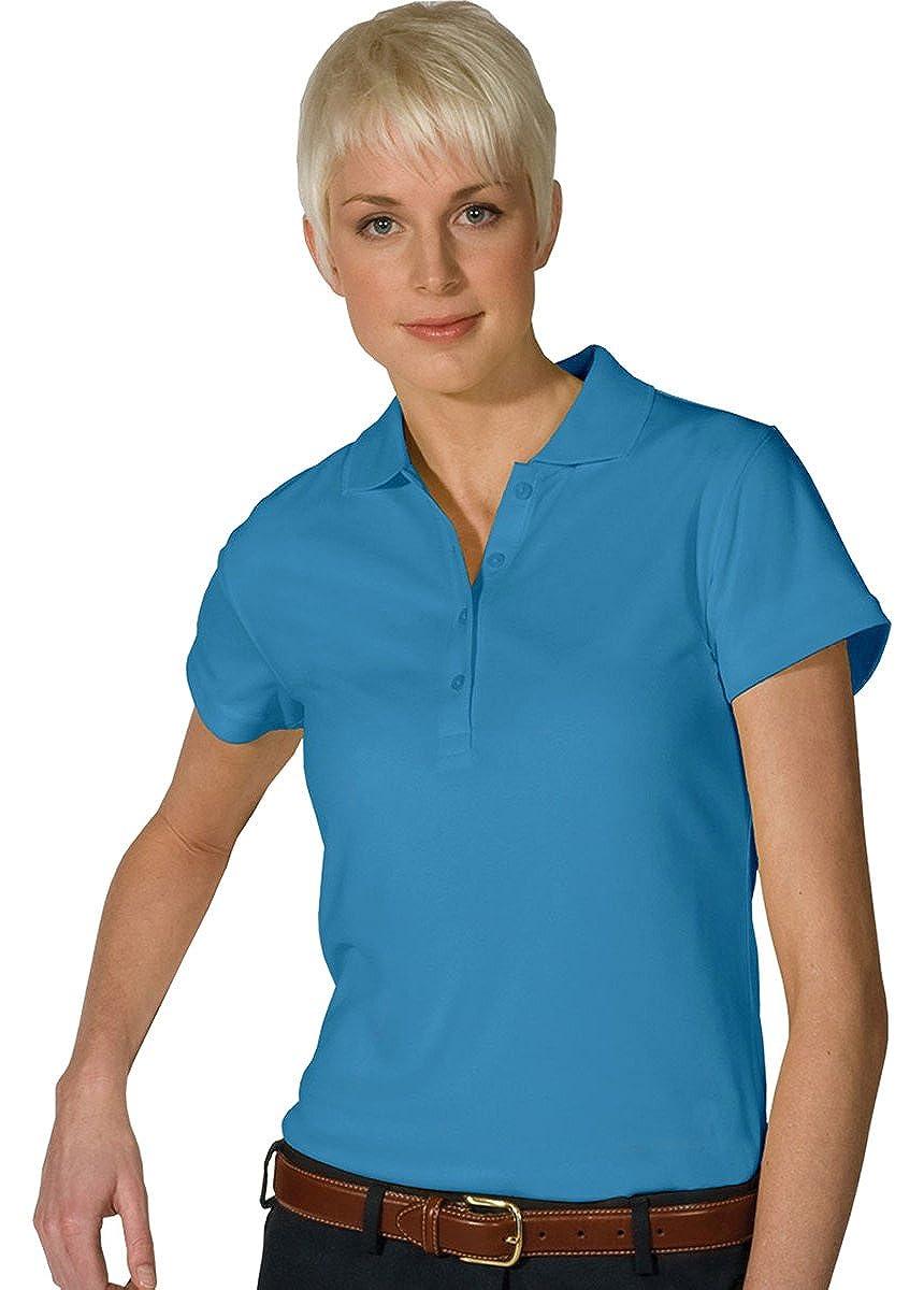 XX-Large Ed Garments Womens Dry-Mesh Hi-Performance Polo Shirt MARINA BLUE