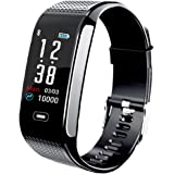 Janker Fitness Tracker, Activity Smart Bracelet Wristband With Pedometer Heart Rate Monitor Step Calorie Distance Track…