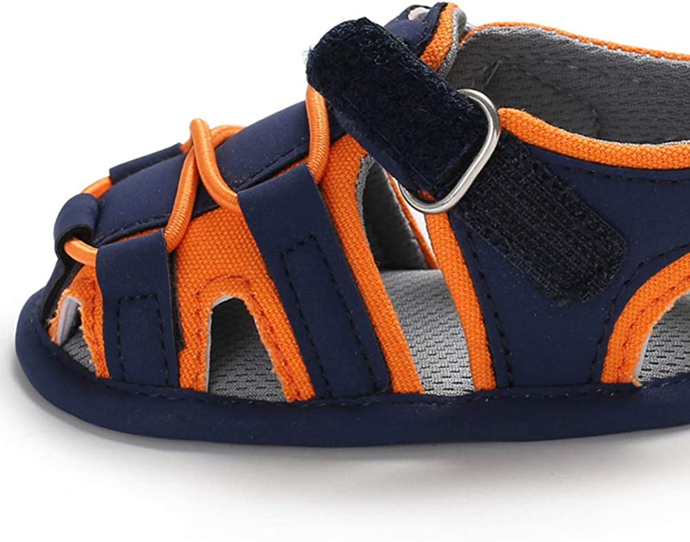Baby Boys Girls Sandals Soft Sole Summer Infant Crib Shoes Lightwight Toddler Prewalker Outdoor Walking Shoes