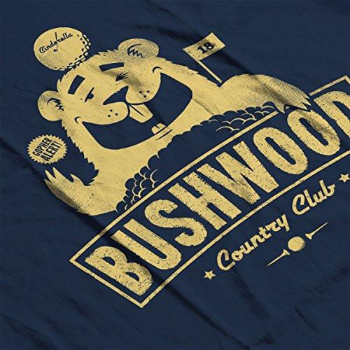 Country Bushwood Caddyshack Navy white Jacket Men's Varsity Club dHqqA