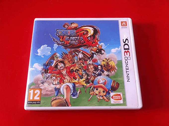 One Piece Unlimited World Red: Straw Hat Edition (Nintendo 3DS) by ...