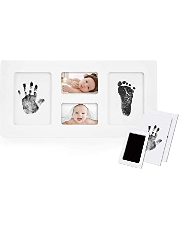 Mother & Kids 1 Set Ink Pad Diy Footprint Handprint Baby Newborn Memory Commemorative Gifts Souvenir Children Storage Box Case Colorful
