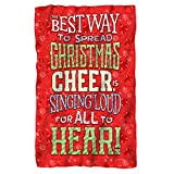 Christmas Cheer -- Elf - The Movie -- Fleece Throw Blanket
