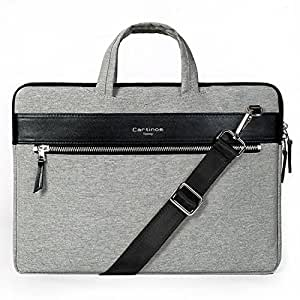 Cartinoe 11 - 15.6 Inch Laptop Sleeve Bag Men's Briefcase Business Women Handbag Notebook Carrying Case for Macbook Air Pro/ Dell / HP / Acer / ASUS / Lenovo Notebook (12 - 13.3 inch, Upgraded Grey)