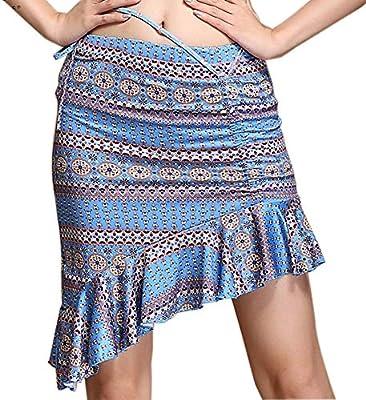 Falda de Volantes con cordón de Danza del Vientre para Mujer ...