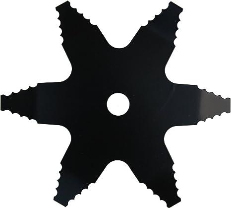 Ausonia-Disco para desbrozadora Picadora de 6 puntas para ...