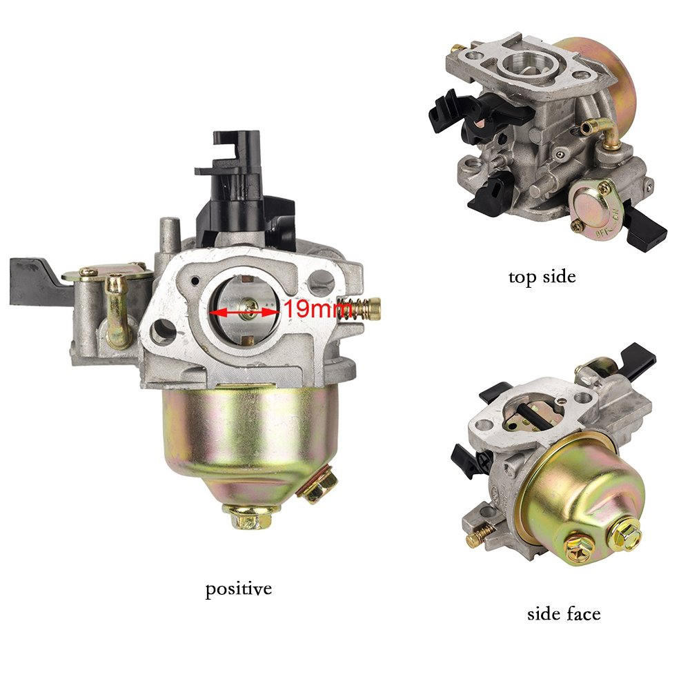 HIFROM TM Replace Carburetor Carb for Honda GX160 GX180 GX200 5.5Hp 6.5Hp Repalces #16100-ZH8-W51 /& 16100-ZH8-W61