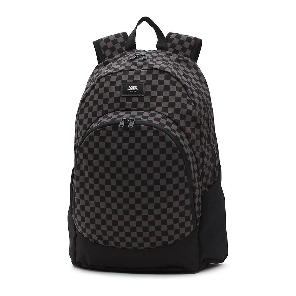 VANS Van Doren Original Backpack One Size Black Charcoal