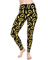 Batman Logo All Over Print Leggings