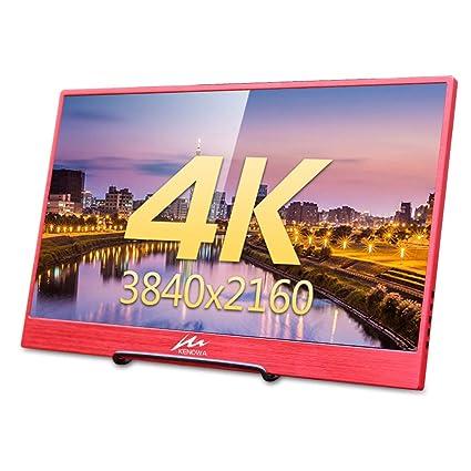 15 6 Moniteur Portable 4k Avec Port Usb C Kenowa Ultra Hd