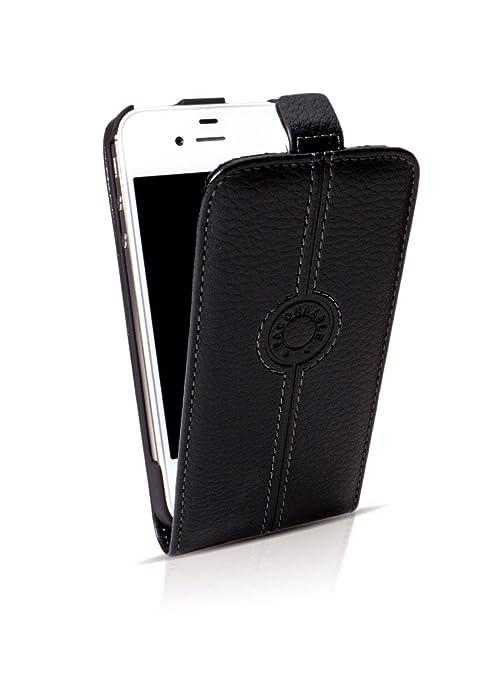 Faconnable FACOSELIP5N Étui à rabat en cuir pour iPhone5 5S SE Noir ... b30480127c77