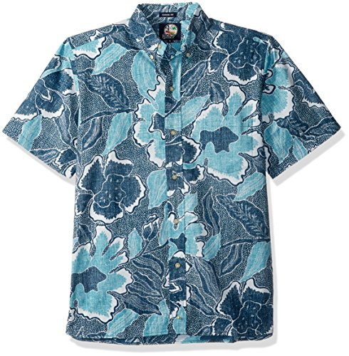 1d874c3c39c Reyn Spooner Men s Spooner Kloth Classic Fit Button Front Hawaiian Shirt