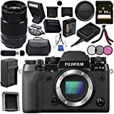 Fujifilm X-T2 Mirrorless Digital Camera (Body Only) 16519247 + Fujifilm XF 90mm f/2 R LM WR Lens 16463668 Bundle