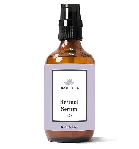Joyal Beauty Organic Retinol Serum para ojos faciales. Lo mejor para Anti-Aging reafirmante