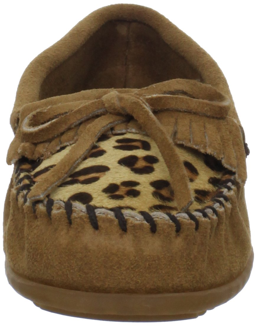 Minnetonka Women's Leopard Kilty Moccasin Moccasin Moccasin - Choose SZ color 9c79ed