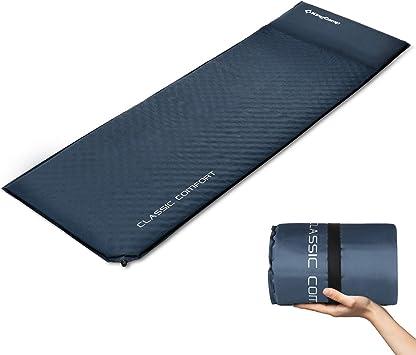 Amazon.com: KingCamp - Colchoneta de dormir autoinflable ...