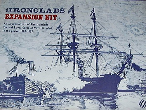 YAQ: Ironclads Expansion Kit for the Ironclads Boardgame of Civil War Era Ship-Ship Naval Combat, 1st Edition