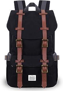 VENTCY Zaino Uomo Donna Backpack Porta PC 14 Pollici Zaino Casual Semplice e Unisex Trekking Daypack Impermeabile 18L