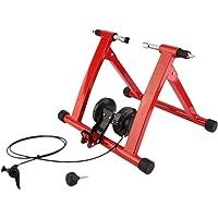 TataYang Bicicleta Magnética Turbo Trainer - Resistencia Variable Bicicleta Entrenamiento Ejercicio Fitness Stationary Frame